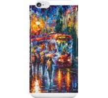 Rainy Trolley — Buy Now Link - www.etsy.com/listing/218763368 iPhone Case/Skin