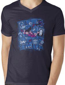 Chihiro in Spiritland Mens V-Neck T-Shirt