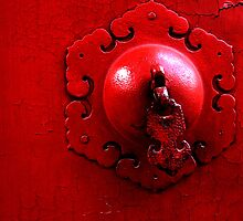 Red knob by sonjas