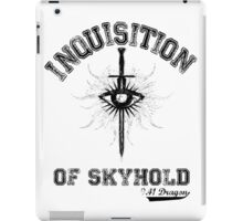 Inquisition Crest Varsity iPad Case/Skin