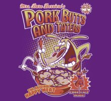 Pork butts and taters by Scott Weston