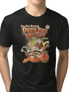 Pork butts and taters Tri-blend T-Shirt