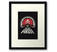 Dawn of the Zombie Pirate Framed Print
