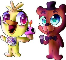 Five (Adorable) Nights at Freddy's by pumpkypie