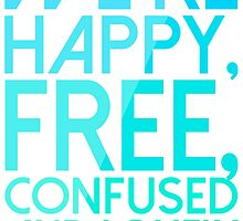 Taylor Swift - Happy, Free, Confused and Lonely by carolanneroyer