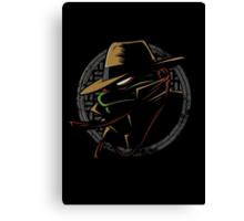Undercover Ninja Raph Canvas Print