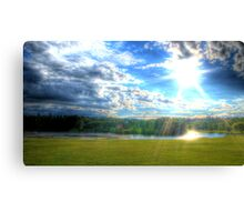 Passing Rainclouds (HDR) Canvas Print