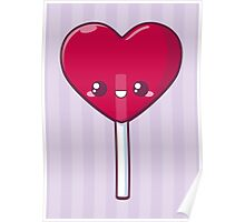 Heart Lollipop Poster