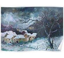 Snow in Villers Poster