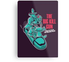 The Big Kill Gun Metal Print