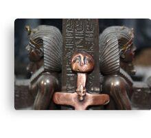 Goddess meets Pharaohs  Canvas Print