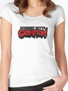 Straight Outta Compton Women's Fitted Scoop T-Shirt