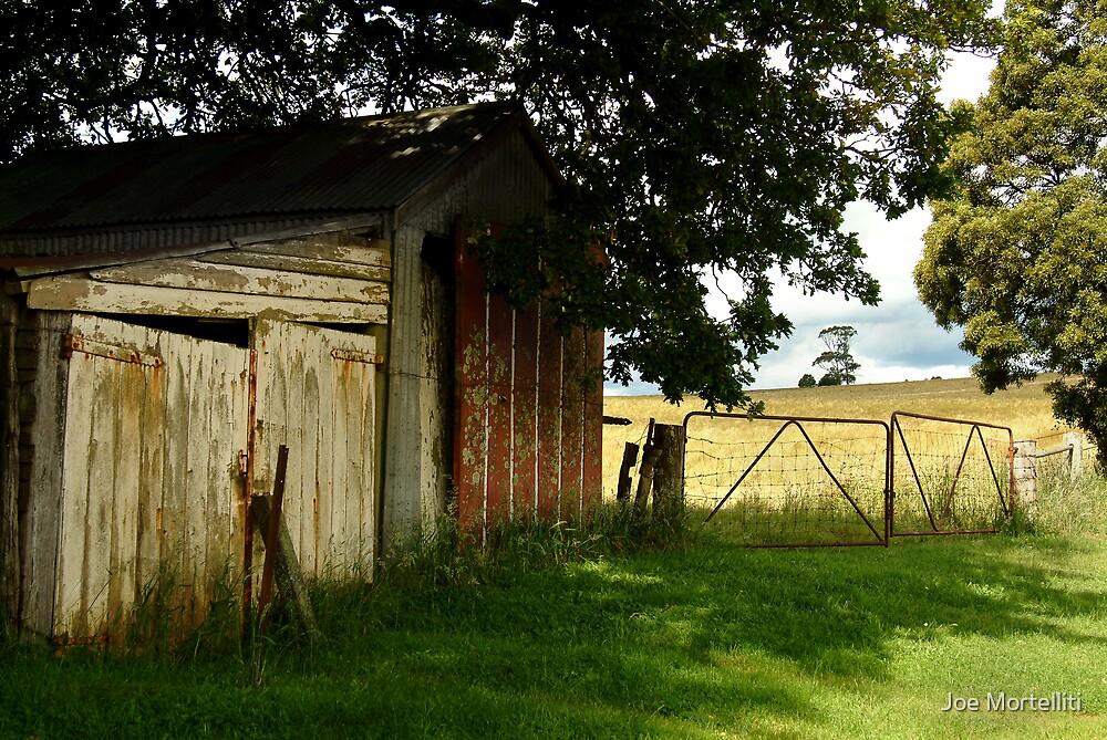 Old Shedding, Clarke's Hill by Joe Mortelliti