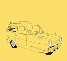 Only Fools and Horses Robin Reliant by Martin Lucas