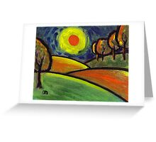 The landscape Greeting Card