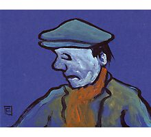 Man in a flat cap Photographic Print