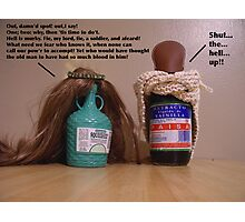 My Pantry Does Shakespeare: Macbeth Photographic Print