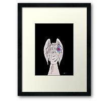 Weeping valentine Framed Print