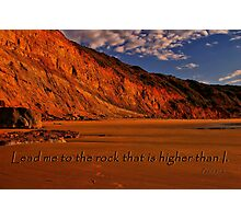 Psalm 61:2 Photographic Print