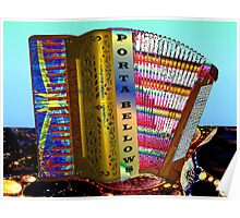 Paint My Accordion #3: Porta Bellows (UF0579) Poster