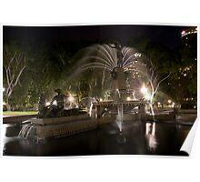 Archibald Fountain 0807 Poster