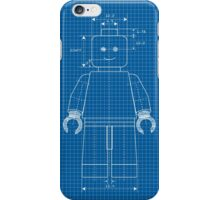 Everything is Awesome - Lego Blueprint iPhone Case/Skin