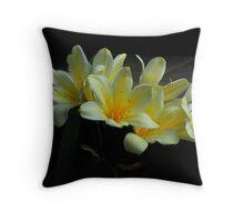 Plethora of Lilies Throw Pillow