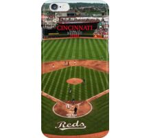 Cincinnati Home of Baseball Fever iPhone Case/Skin