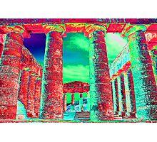 Segesta Temple, Trapani,  Sicily,  Italy Photographic Print