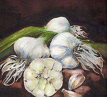 Shelley's Garlic by Sherry Cummings