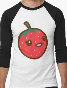 Kawaii Strawberry Men's Baseball ¾ T-Shirt