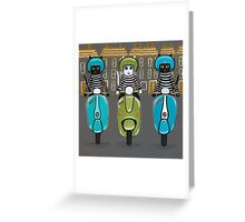The Scooter Squad Greeting Card