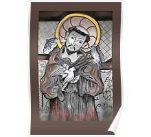 Saint Francis of Assisi Day Poster