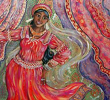 Indian Dancer by Deborah Conroy