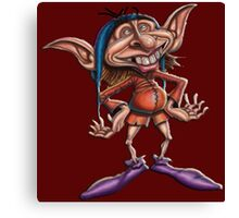 Goblin Happy Canvas Print