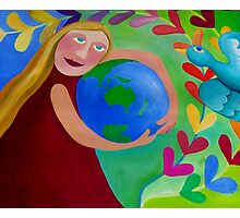 CHERISH  and  RESPECT OUR  ''MOTHER''......EARTH Photographic Print