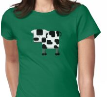 Little Moo TShirt Womens Fitted T-Shirt