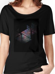 Galaxy Triangles Women's Relaxed Fit T-Shirt