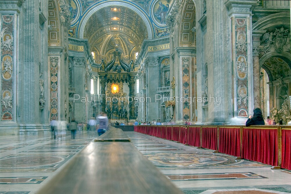 Inside The Vatican by Paul Thompson Photography