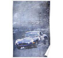 E type racing Poster