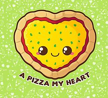 A Pizza My Heart [Green] by pai-thagoras
