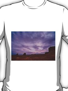 Monument Valley and Clouds4 T-Shirt