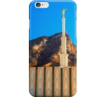 Provo Temple iPhone Case/Skin