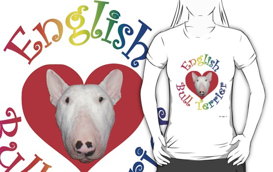 English Bull Terrier! by Louise Morris