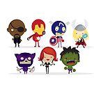 Avengers by mjdaluz
