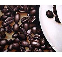 Raw Caffeine Photographic Print