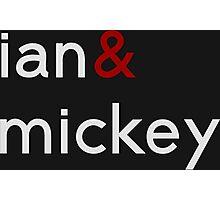 ian&mickey dark Photographic Print