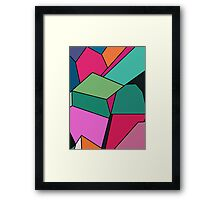 Segments Framed Print