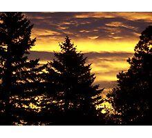 Thanksgiving sunrise Photographic Print