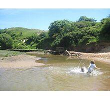 River Fun Photographic Print